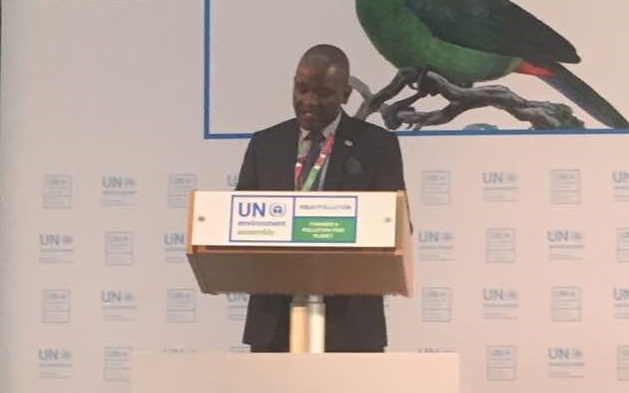 Statement by Hon Lloyd Mulenga Kaziya MP., Minister of Water Development, Sanitation and Environmental Protection, Zambia